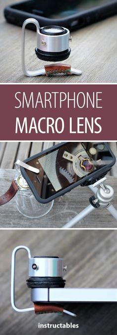 Smartphone Macro Lens #photography