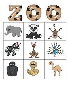 "BINGO for Pre-K ZOO BINGO for Pre-KZoo (disambiguation) A zoo (shortened form of ""zoological garden"") is a place where all animals are exhibited. Zoo may also apply to: Preschool Zoo Theme, Preschool Library, Preschool Centers, Bingo, Zany Zoo, Zoo Phonics, Zoo Crafts, Daycare Themes, Le Zoo"