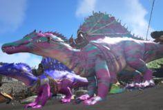 Rainbow spino ark pinterest spinosaurus spino pink camo malvernweather Images