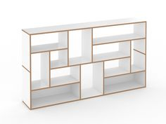 Estante aberta modular de MDF HANIBAL by Tojo Möbel design FLOID Product Design