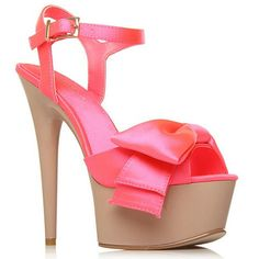CARVELA Pink Guard High Heel Shoes- at Debenhams.ie