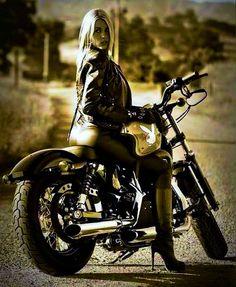 Biker Chick.