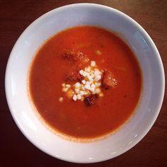 İçinizi ısıtsın ve bu kış hiç hasta olmayın diye #Kaserol Domates Çorbası :) #domates #domatesçorbası #çorba #soup