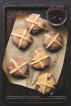 Pin for Later: 54 Doughnuts That Are Just the Right Amount of Naughty Hot Cross Bun Doughnuts Get the recipe: hot cross bun doughnuts
