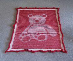 Ravelry: Teddy Bear Illusion Blanket and Cushion pattern by Steve Plummer