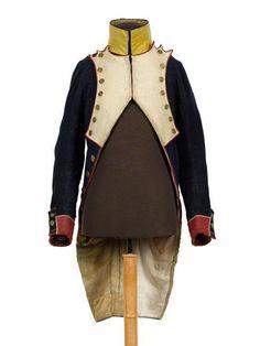 Habit of voltigeur of the 121st French line infantry regiment (1809)