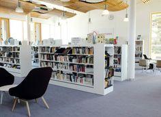 Médiathèque Ormédo à Orvault (44) ©IDM design library