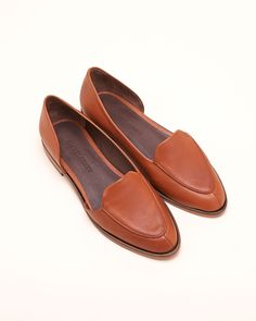 Bolt Flats in Cognac By Rachel Comey
