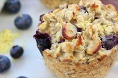 Lemon Blueberry Oatmeal Muffins are a wholesome breakfast option. Clean & Delicious with Dani Spies Baked Blueberry Lemon Oatmeal Muffin Cups – Clean & Delicious w The Oatmeal, Oatmeal Cups, Pumpkin Oatmeal, Blueberry Oatmeal Muffins, Lemon Muffins, Blue Berry Muffins, Blueberry Breakfast, Oat Muffins, Protein Muffins