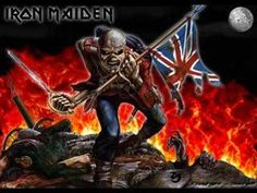 A run-down of songs by British heavy metal band Iron Maiden inspired by literature. Albums Iron Maiden, Historia Do Corinthians, Good Music, My Music, Heavy Metal, Iron Maiden The Trooper, Rock Videos, Post Punk, Red Hats
