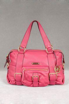 Pink purse.