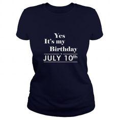 Birthday July 10th Shirts TShirt Hoodie Shirt VNeck Shirt Sweat Shirt for womens and Men #July