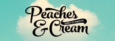Peaches and Cream is a bold brush style script family of three weights, ornament set and an all caps font. Peaches and Cream is equipped with plenty of Ope