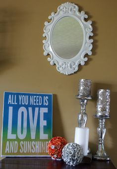 Upcycling DIY home decor, woodworking and Crafts Dollar Tree Candles, Dollar Tree Crafts, Silver Spray Paint, Decorative Spheres, Paper Roses, Paper Decorations, Diy Stuff, Diy Paper, Dollar Stores