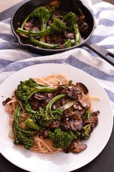 One of my favorite foods in the winter months is sautéed mushrooms. I know, it sounds gross. But if you let those babies sit for at least a half hour, you're looking at whole new mushrooms. They're...