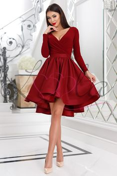 47 Awesome Prom Dress Ideas for Beautiful Girls – Trendy Fashion Ideas Dama Dresses, Hoco Dresses, Event Dresses, Dresses For Teens, Formal Dresses, Dress Dior, Long Sleeve Homecoming Dresses, Cute Long Sleeve Dresses, Dresses With Sleeves