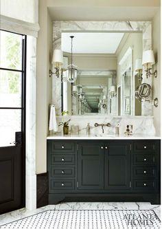 The Tile Shop: Design by Kirsty: Atlanta Homes Magazine Best Baths 2012 Atlanta Home Magazine | #DBC2013