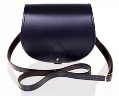 Classic Navy Saddle Bag Purse  I would so love this for my birthday..