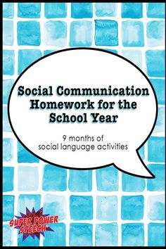 With 36 weeks of social communication homework included, you cannot go wrong with this set! Parents, counselors, and SLPs love it!