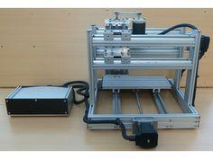 Desktop Mini Muscle CNC Machine. by CLaNZeR, via Kickstarter. Low Cost, Fast, Robust and Accurate Desktop CNC Machine