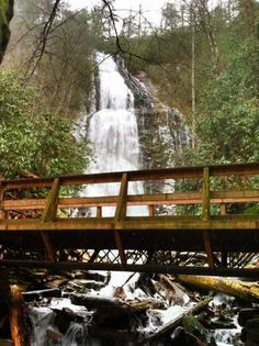 WESTERN NC--Mingo Falls is a beautiful, well hidden waterfall in Cherokee, NC.  It is located on Big Cove Road, just past the Cherokee KOA.  Look for a sign.  FREE  Requires about a 15 minute hike up steps.