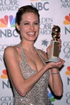 I always loved this dress. (Angelina Jolie, golden globes, 1999)