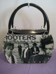 Hooters One Way Home Vtg Vinyl Record Lp Convertible Tote Purse Shoulder Bag