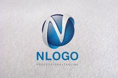 N Letter, Letter N, N logo, logo N by Design Studio Pro on Creative Market