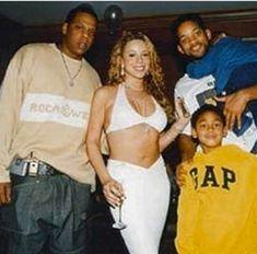 Young Jay Z, Method Man Redman, Will Smith And Family, Mc Eiht, Mariah Carey 90s, Def Jam Recordings, Hip Hop Artists, Music Artists, Jada Pinkett Smith