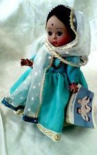 Vintage Madame Alexander India Doll Complete Original Clothing Accessories & Tag