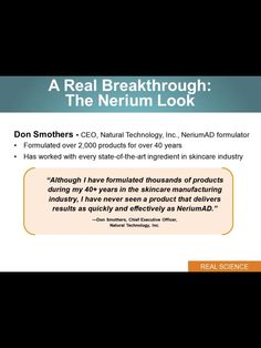 Buy your Nerium & learn more at www.merylandry.nerium.com