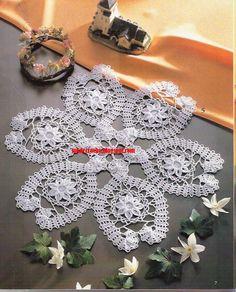 ### Dare un tok crochet ###: centrinhos