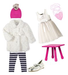 """little girl"" by karanlyn on Polyvore featuring Fatboy, Wyatt, Zunie, women's clothing, women, female, woman, misses and juniors"