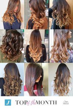 """Oggi è un giorno speciale: vi presentiamo la nuova rubrica  """"Degradé Top of the Month""""  Ogni mese una vetrina con i Degradé più apprezzati sulla nostra pagina ufficiale Istagram! 🔝😍 #cdj #degradejoelle #tagliopuntearia #degradé #igers #musthave #hair #hairstyle #haircolour #longhair #ootd #hairfashion #madeinitaly #wellastudionyc"""