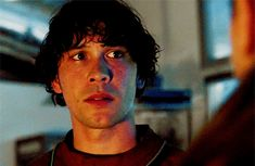 Bellamy Blake was so sad when Clarke wasn't there yet.