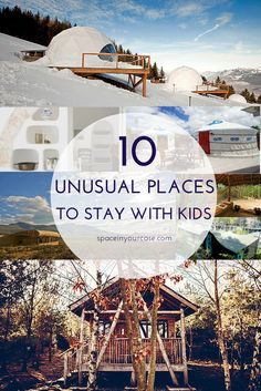 10 unusual places to stay with kids - family-friendly accommodation your kids will LOVE! What To Do Before You Travel Before I go on a brand new trip, what Family Vacation Destinations, Vacation Spots, Travel Destinations, Vacation Ideas, Vacation Games, Travel Tips, Travel Packing, Best Family Vacations, Cruise Vacation
