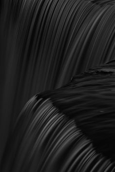 ☾ Midnight Dreams ☽ dreamy & dramatic black and white photography - Jägala Waterfall - Estonia