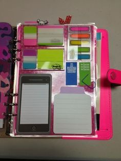 """The Sticky Note GTD Planner System [Tutorial] : pinner said, """"Very ..."""