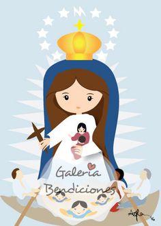 Retablo de Virgen de la Caridad del Cobre by GaleriaBendiciones