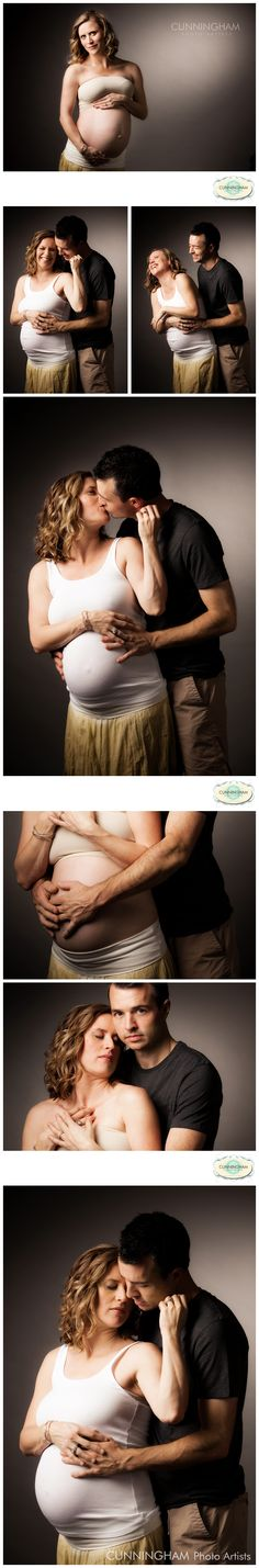 A film strip from a recent studio maternity session.  Gorgeous couple, and so in love.