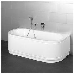 Kaldewei Einbauwanne CLASSIC DUO OVAL 111 180 x 80 x 43 cm weiß, ca ...