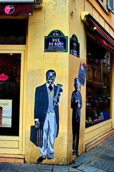 rue de Seine - rue de Bucci.