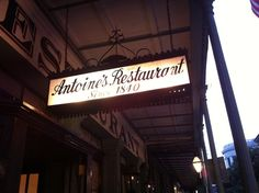 The oldest family restaurant in the nation. They invented oysters Rockefeller, and have a Prohibition mystery room. New Orleans, LA 18