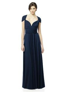 Bridesmaids' Dress:   Twist Wrap Dress by the Dessy Group. $180  Similar to Two Birds, but less pricy!