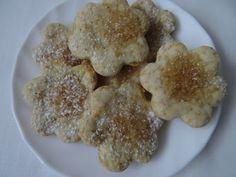 www.przepismamy.pl: Kruche ciasteczka z cukrem Oatmeal, Breakfast, Food, The Oatmeal, Morning Coffee, Rolled Oats, Essen, Meals, Yemek