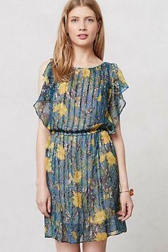 Pleated Daylily Dress