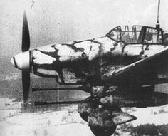 Ju 87G Kanonenvogel, camouflaged for the Russian winter