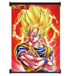 Add elements of fantasy to your home decor theme by using dragon wall art.  indeed dragon wall decor is perfect for game rooms, offices and even living rooms. My favorite dragon wall art are dragon wall hangings, dragon wall clocks, dragon metal wall art, dragon ball wall art, and Chinnese dragon wall art #dragons Dragon Ball Z Anime Super Saiyan Goku Fabric Wall Scroll Poster (32x42) Inches. [WP]DragonBallZ-14 (L)