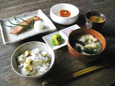 Breakfast - Traditional Japanese Style