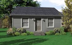 View our numerous modular home floor plans and elevations, like this Harmony Cottage House Plans, Small House Plans, Cottage Homes, Tiny Guest House, Small House Living, Modular Home Floor Plans, House Floor Plans, 1000 Sq Ft House, Tiny Office